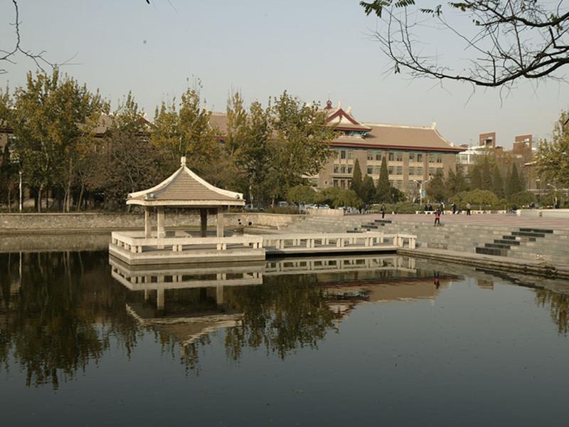 天津大学敬业湖