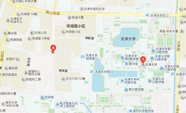 天津大学地图